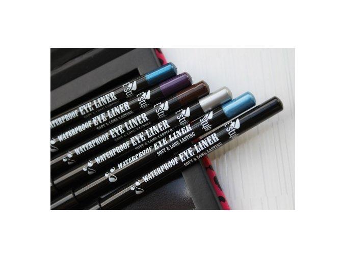 E style - Waterproof Eye Liner voděodolná tužka na oči 05 Azure 1,4 g