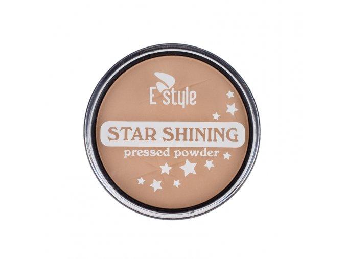 E style - Star Shining kompaktní pudr 01 17 g