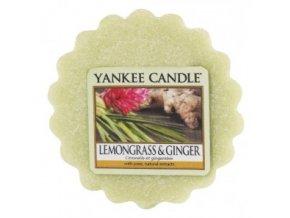 Yankee candle - Vonný vosk do aromalampy LEMONGRASS & GINGER