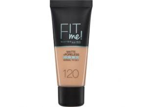 Maybelline - Make-up Fit me matt and poreless 120 Classic Ivory