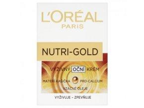 L´Oréal - Nutri-gold extra výživný oční krém 15 ml