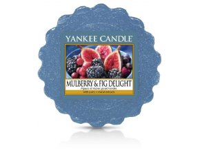 Yankee candle - Vonný vosk do aromalampy MULBERRY & FIG DELIGHT