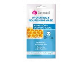 Hydratační a vyživující maska medium