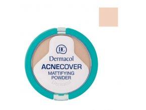 Dermacol - Acnecover matující pudr na problematickou pleť 1 Porcelain