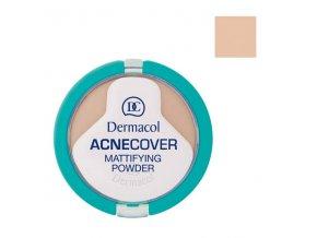 Dermacol - Acnecover matující pudr na problematickou pleť 3 Sand