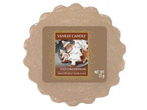 Yankee candle - Vonný vosk do aromalampy ICED GINGERBREAD