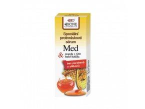 specialni protivraskove serum med propolis q10 materi kasicka bione cosmetics 40 ml